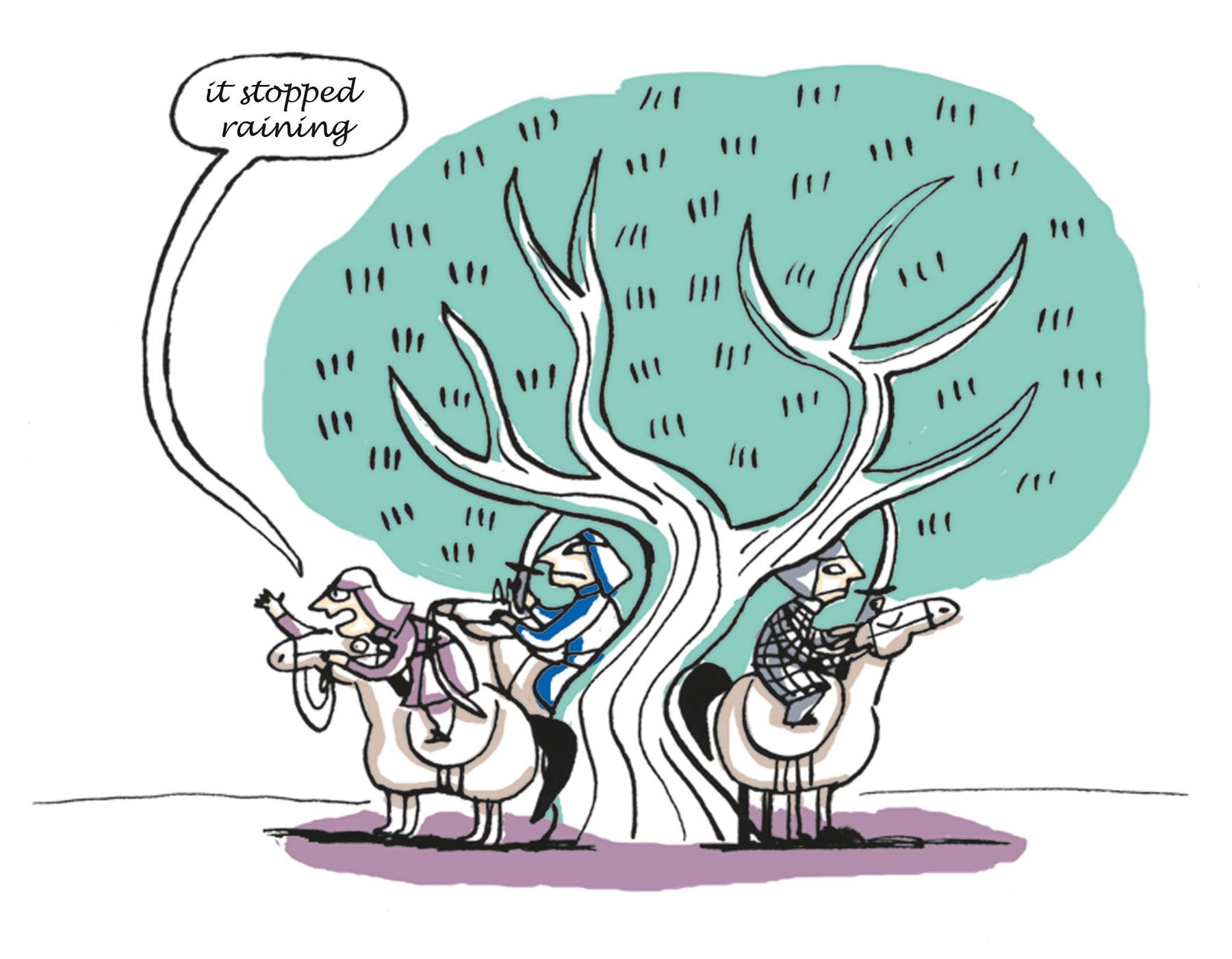Illustration de presse de Nathalie Dieterlé pour le Besherelle pour apprendre le chinois édité par les éditions Hatier