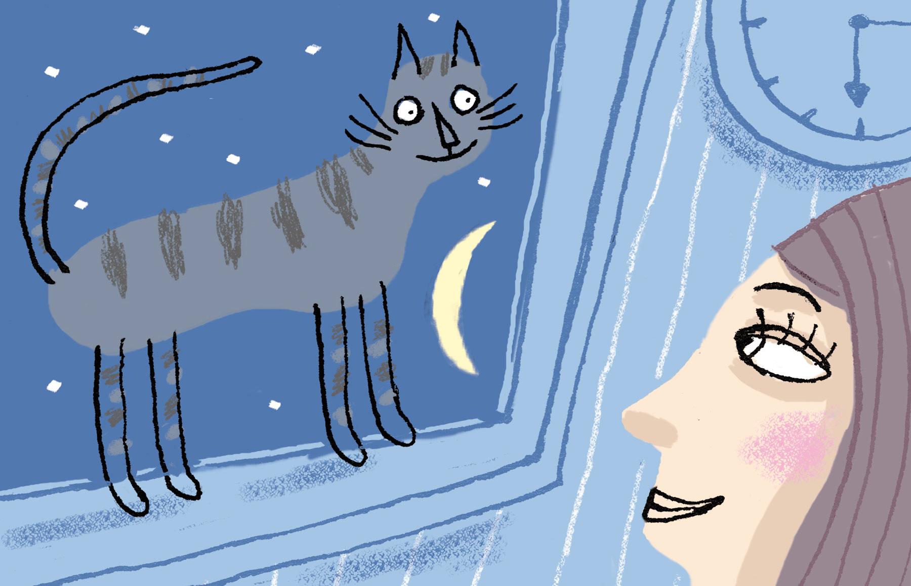 """Illustration de presse de Nathalie Dieterlé pour le magazine américain en ligne """"All Créatures"""""""
