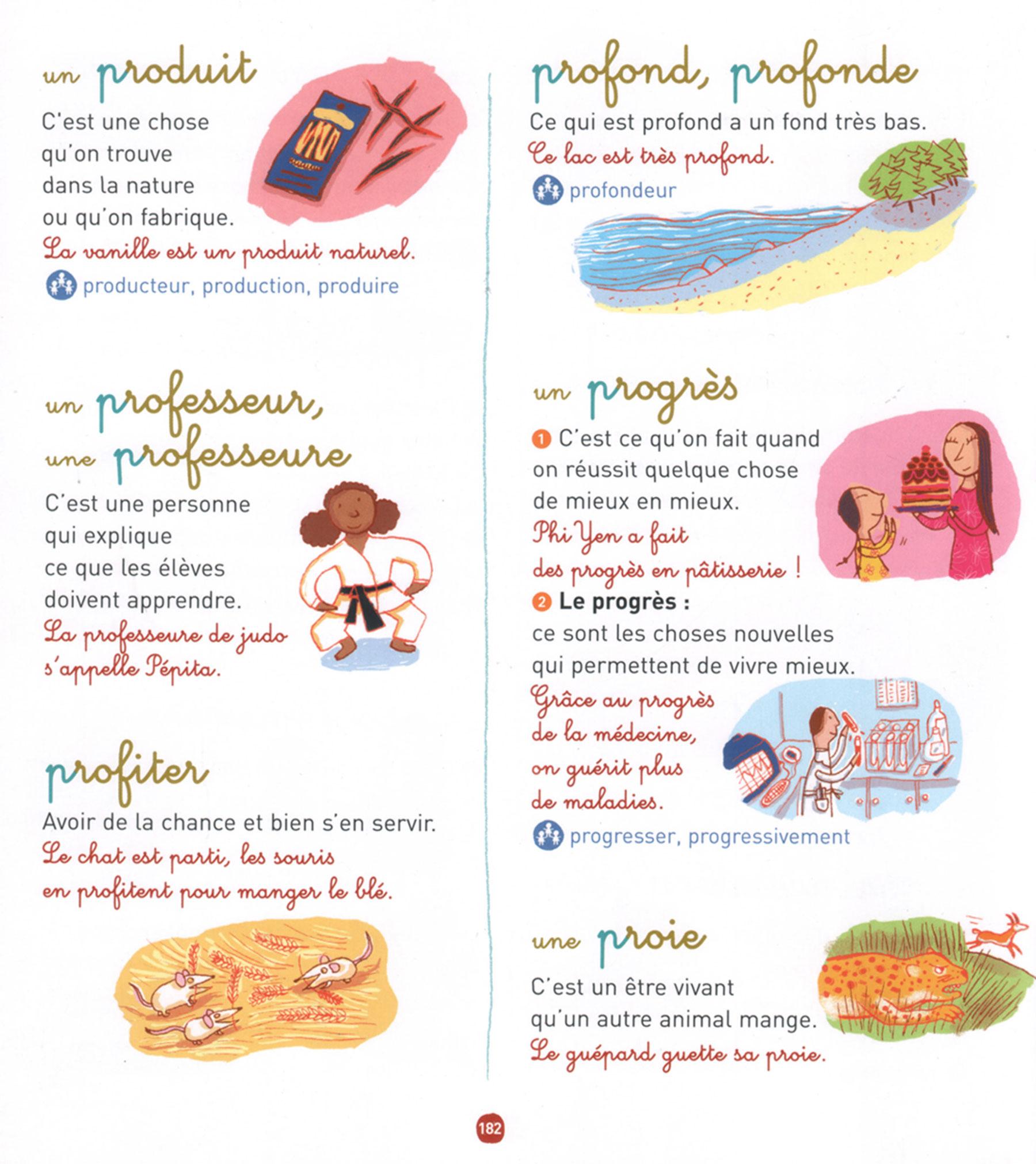 """Illustrations pour """"Mon premier dictionnaire Nathan"""" édité par Nathan Edition"""