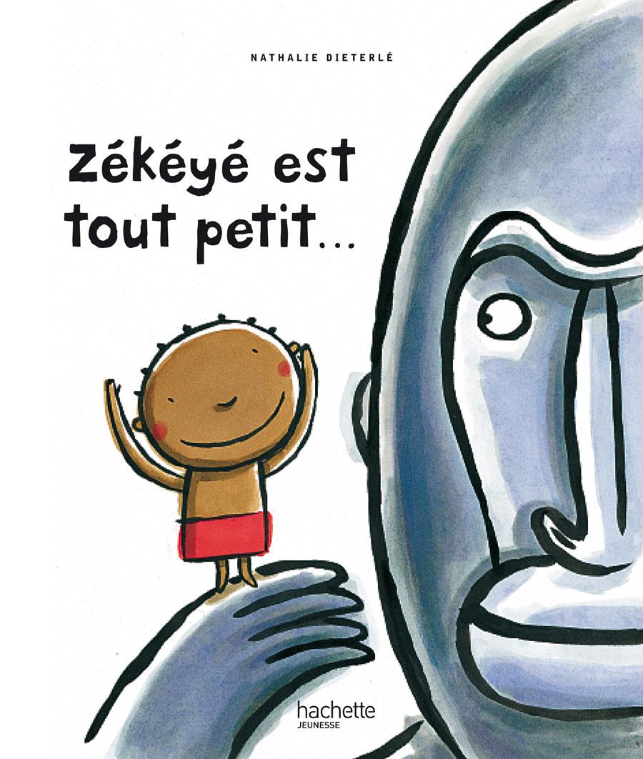 """""""Zékéyé est tout petit"""" est un livre animé pour enfant écrit et illustré par Nathalie Dieterlé ."""
